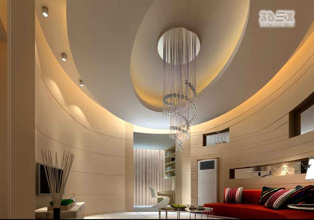 Latest pop design for hall 50 false ceiling designs for for Living hall design ideas