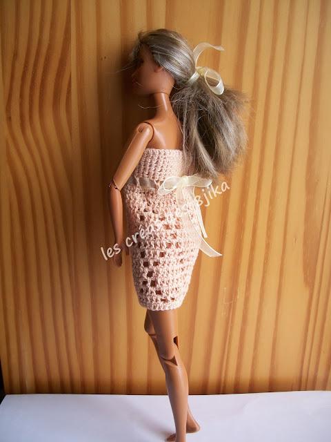 Modèle nuisette pour Barbie