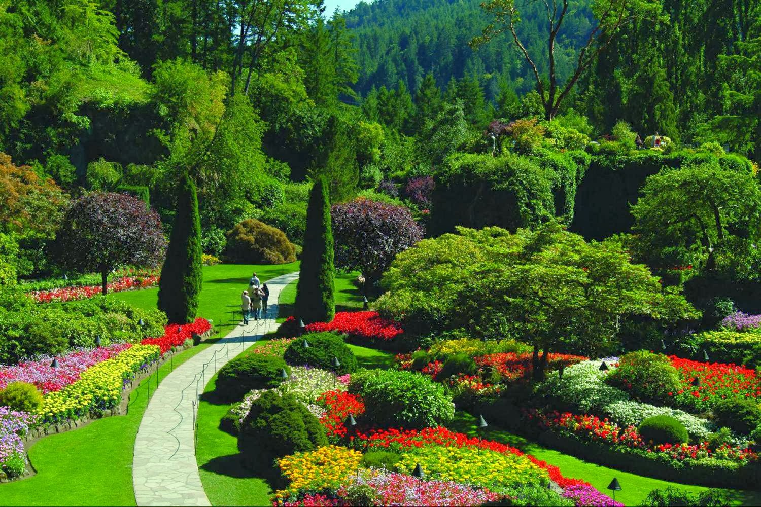 Travel trip journey butchart garden canada - Butchart gardens tour from victoria ...