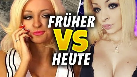 Katja Krasavice - Hot or Not ? Früher vs Heute