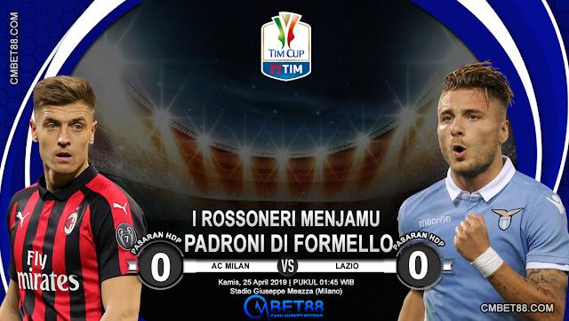 Prediksi Bola AC Milan VS Lazio
