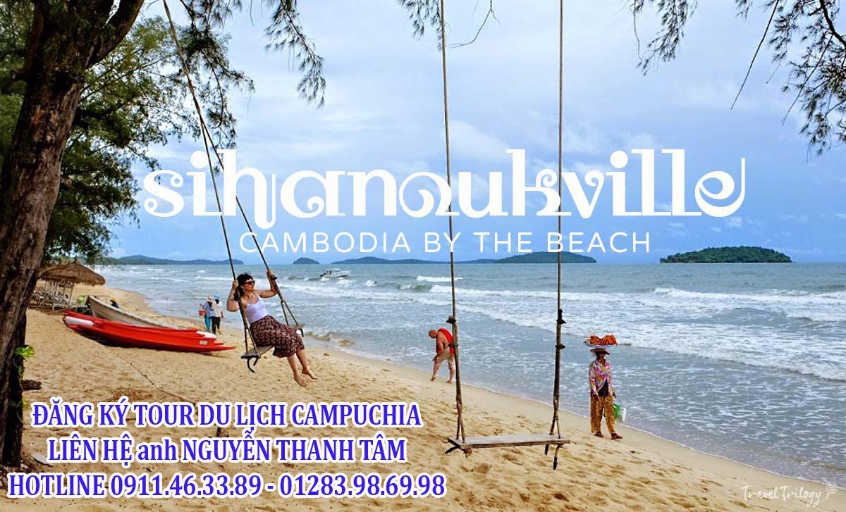 Tour du lịch Campuchia Sihanouk Bokor KohRong PhnomPenh 4N3Đ
