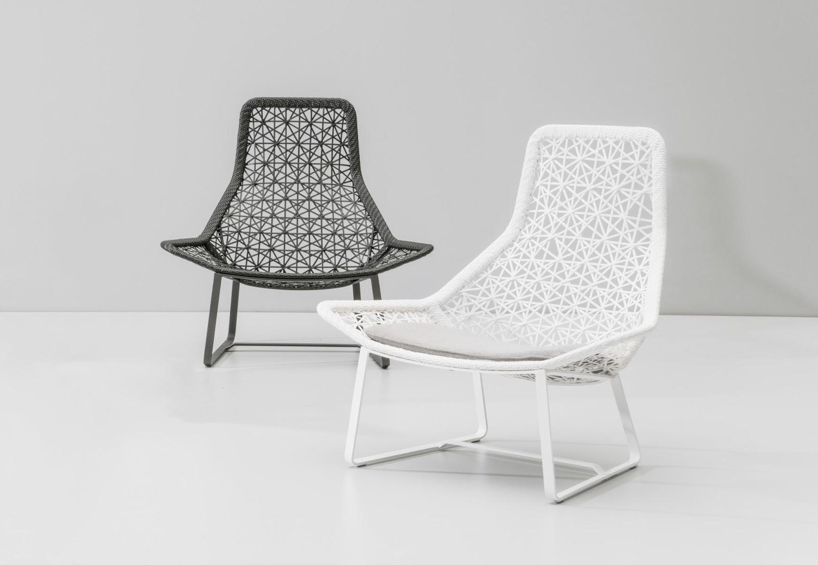Avant garde design kettal textural seating for Kettal barcelona