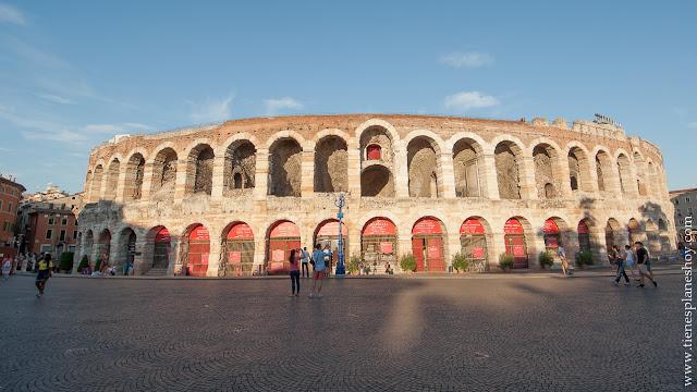 Arena Verona anfiteatro romano bonito Italia viaje turismo visitar