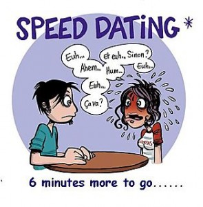 Speed dating fundraiser