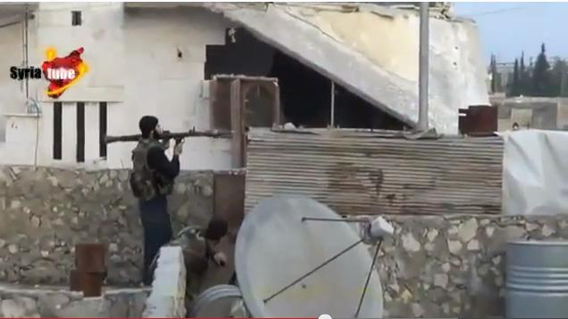 Βίντεο από Συρία. Ισλαμοφασίστας ποζάρει με ρουκετοβόλο, που όμως όταν πάει να ρίξει, τον κάνει κομμάτια.