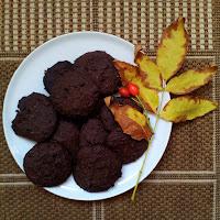 Brownie sušenky z černých fazolí