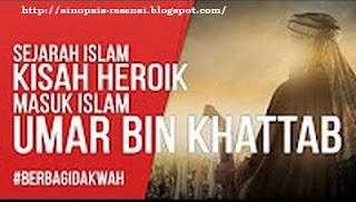 """Sinopsis Kisah Islami """"Masuk Islamnya Umar bin Khatab"""", Sejarah Islam, Kisah Nyata, Kisah Islami, Khilafah, Umar"""