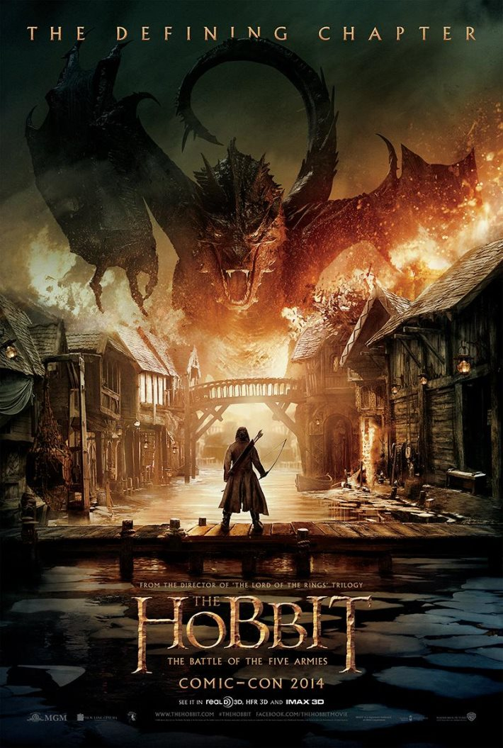 Poster: The Hobbit The Battle of the Five Armies