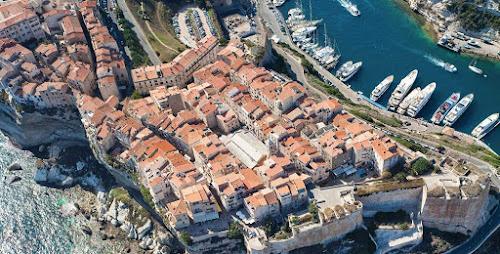 Vista aérea de Bonifácio – Córsega