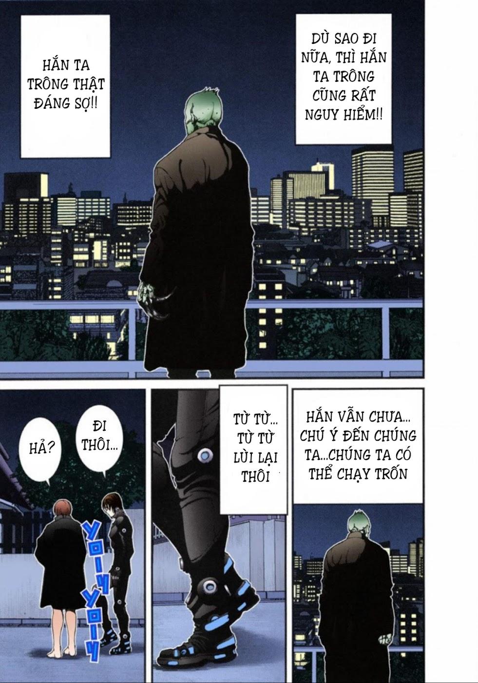 Gantz Chap 13: Đôi mắt trang 9