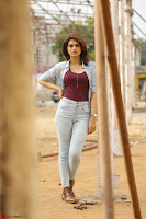 Shraddha Das in a Lovely Brown Top and Denim jeans ~ Exclusive Unseen Beauty HD Pics 005.JPG