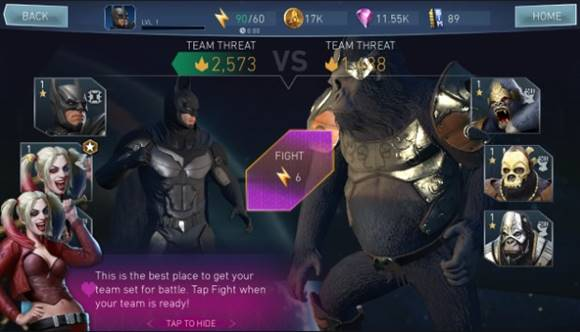 Free Download Injustice 2 Mod Apk Data Android