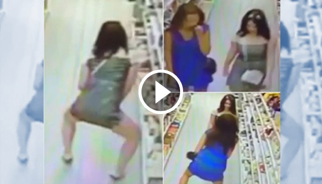 Video: 2 Wanita Curi Coklat Sumbat Dalam Seluar Dalam