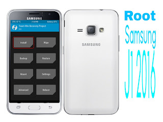 Root dan Install TWRP Recovery samsung j1 2016