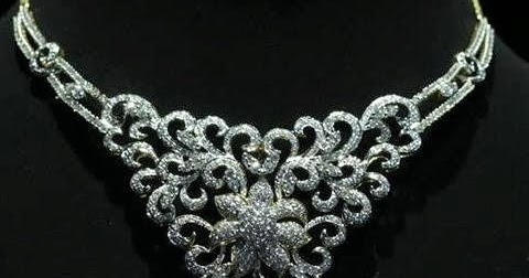 Kalyan Jewellers Latest Diamond Necklace Collection
