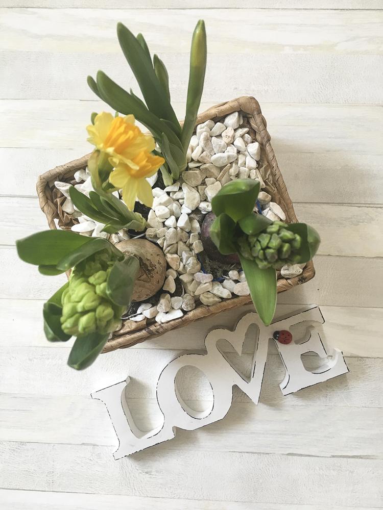 Wiosenna dekoracja - szybkie DIY