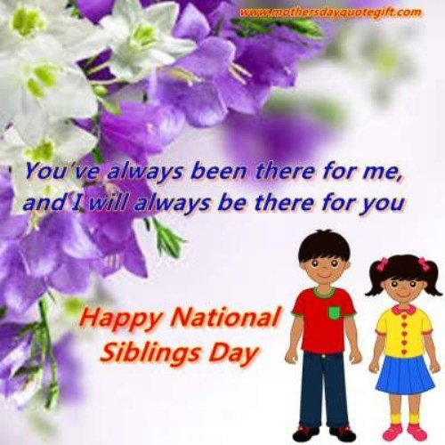Happy Sister And Brothers Day: Siblings Day 2016 Facebook Whatsapp Status