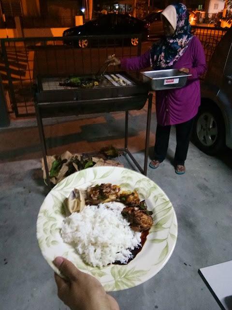 Adni Suite Homestay Seri Manjung || Blogger Nova Leeza - BBQ