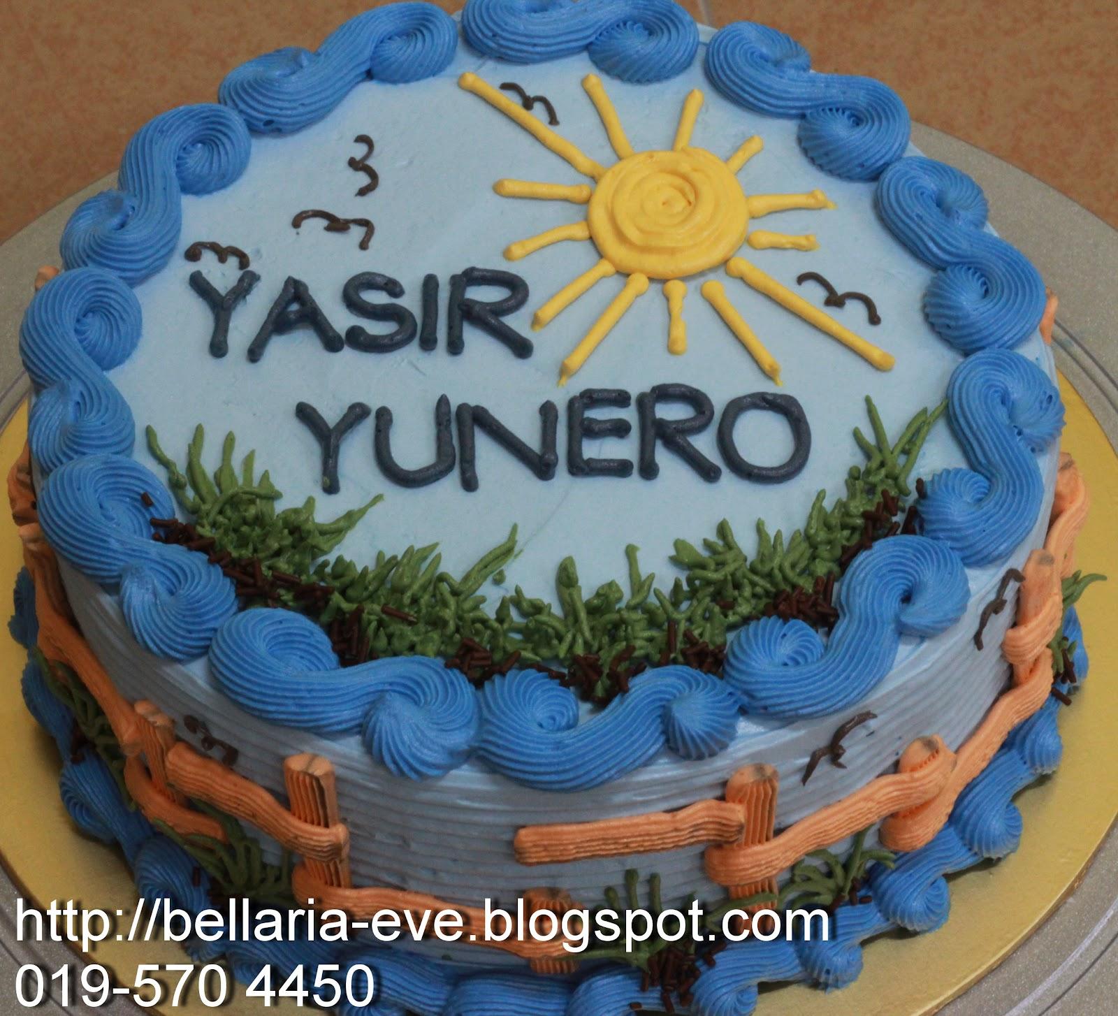 Bellaria Happy Birthday Yasir Yunero San