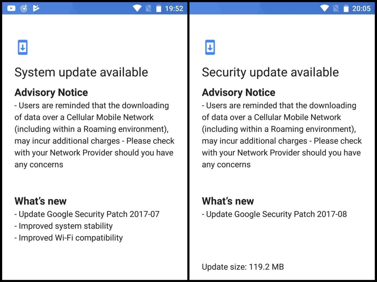Image result for August Security update for Nokia 5 & 6 rolling out now.