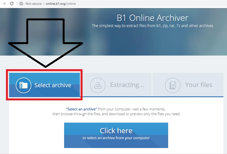 How to Open RAR and ZIP Files without using any Software - InfoArena