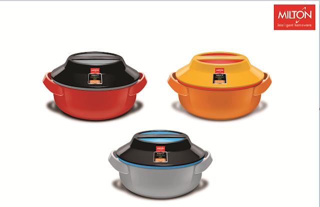 Milton launches 'Microwow', World's first Microwavable insulated Casserole with steel inner