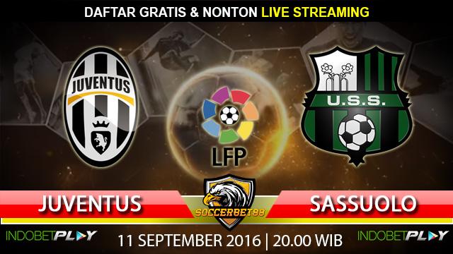 Prediksi Juventus vs Sassuolo 11 September 2016 (Liga Italia)