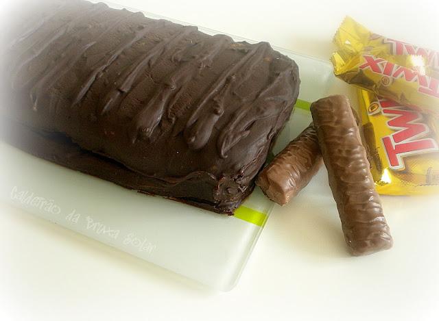 "Bolo ""Chocolate Twix"""
