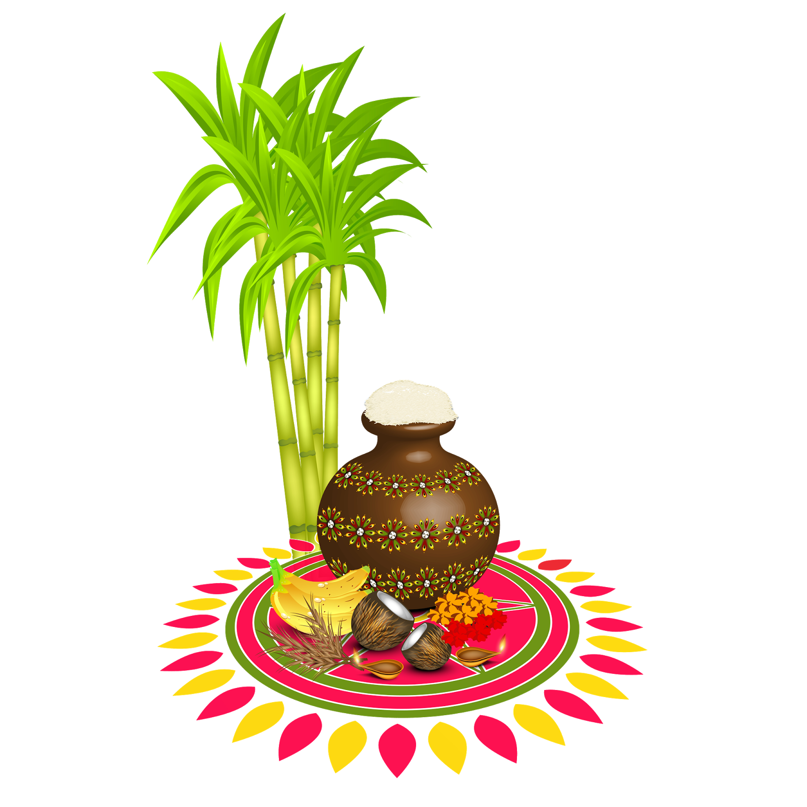 happy pongal (pot stock ping) png vector collection - SRK ...