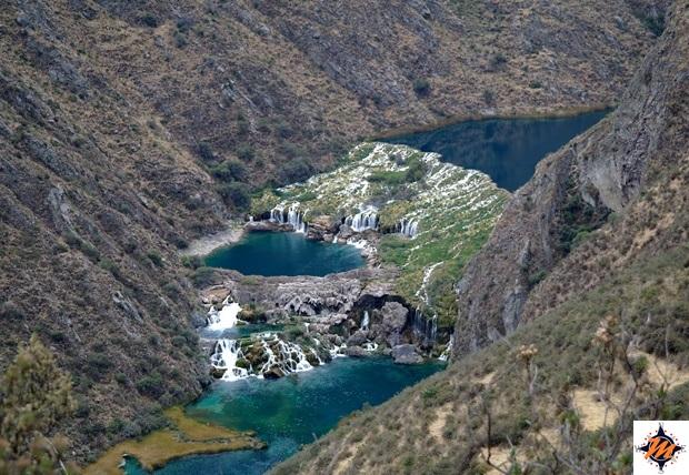 Huancaya, cascate