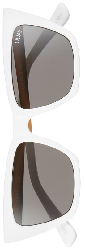 Quay x Desi Perkins Don't @ Me 48mm Cat Eye Sunglasses