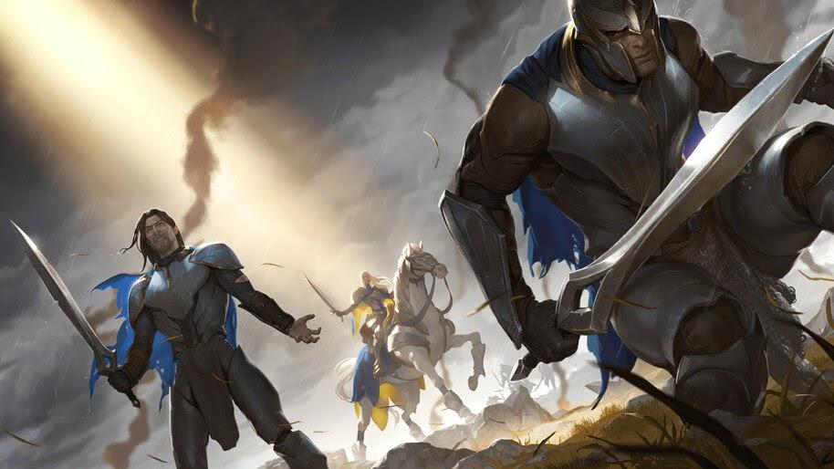 Vanguard Firstblade, Legends of Runeterra, 4K, #3.1689