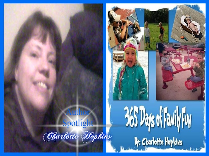 BOOK DRAMA ~ AUTHOR SPOTLIGHT ~ CHARLOTTE HOPKINS