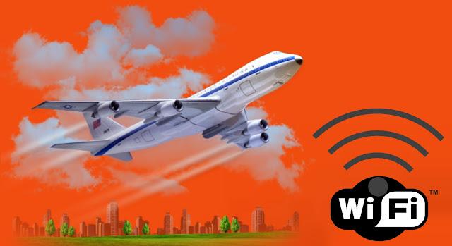 كيف تحصل الطائرة علي أتصال بالإنترنت أثناء الطيران