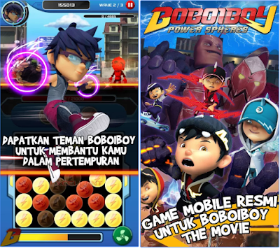 BoBoiBoy : Power Spheres v1.3.6 Apk