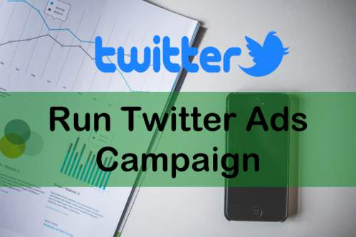Run advertisement on twitter