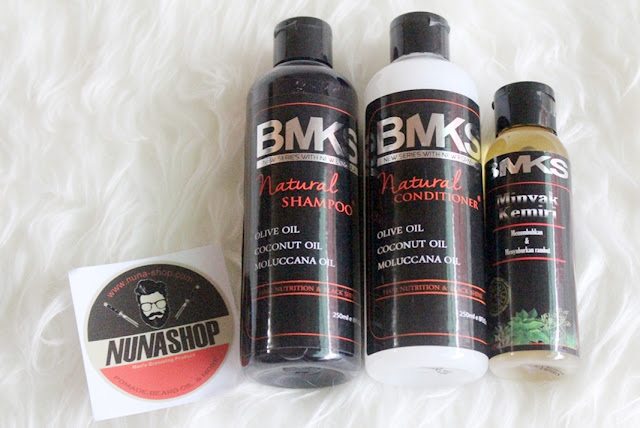 Paket BMKS BPOM Black Magic Kemiri Shampoo Hitam