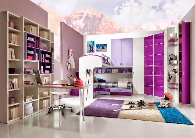 comment d corer une chambre pour fille. Black Bedroom Furniture Sets. Home Design Ideas
