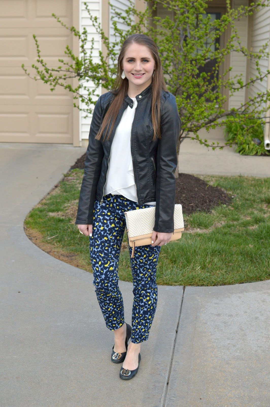 how to style leopard pants for the office
