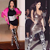 MPNAIJA GIST:Who wore the boots better? Nicki Minaj vs Kim Kardashian