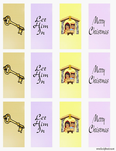 Celebrate Christmas with this Nativity Advent Calendar Gift.  Day six brings the Innkeeper and his story of forgiveness and the truth of letting Christ into your life.  Print this Hershey mini printable and give a sweet treat this Christmas day.