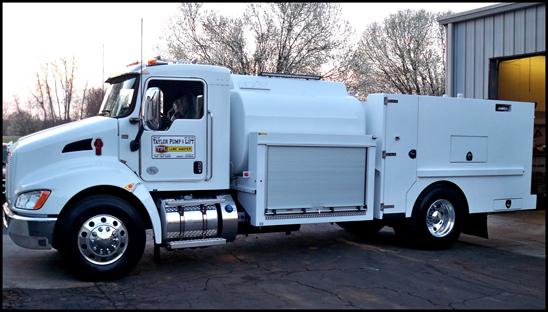 Kenworth T370 TPL Lube Truck