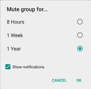 Tips Mudah Mematikan Notifikasi Group Di WhatsApp