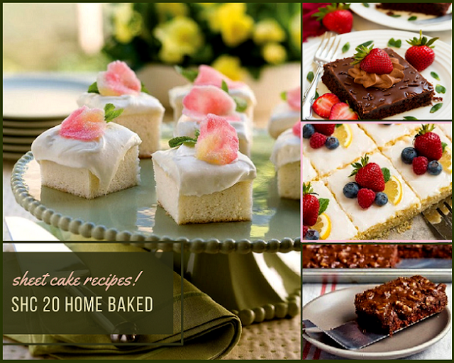 SHC 20 HOME BAKED SHEET CAKE RECIPES