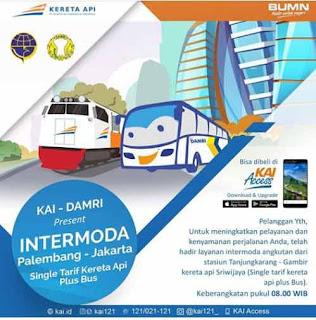 Tiket KA Palembang Jakarta