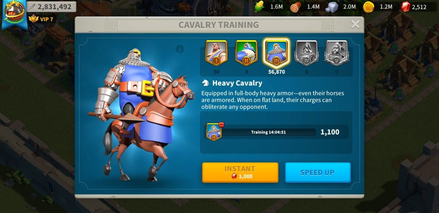 Power up faster in Rise of Kingdoms