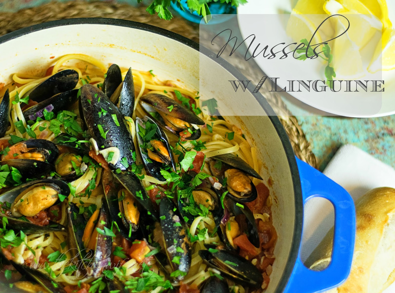 Mussels w/ Linguine