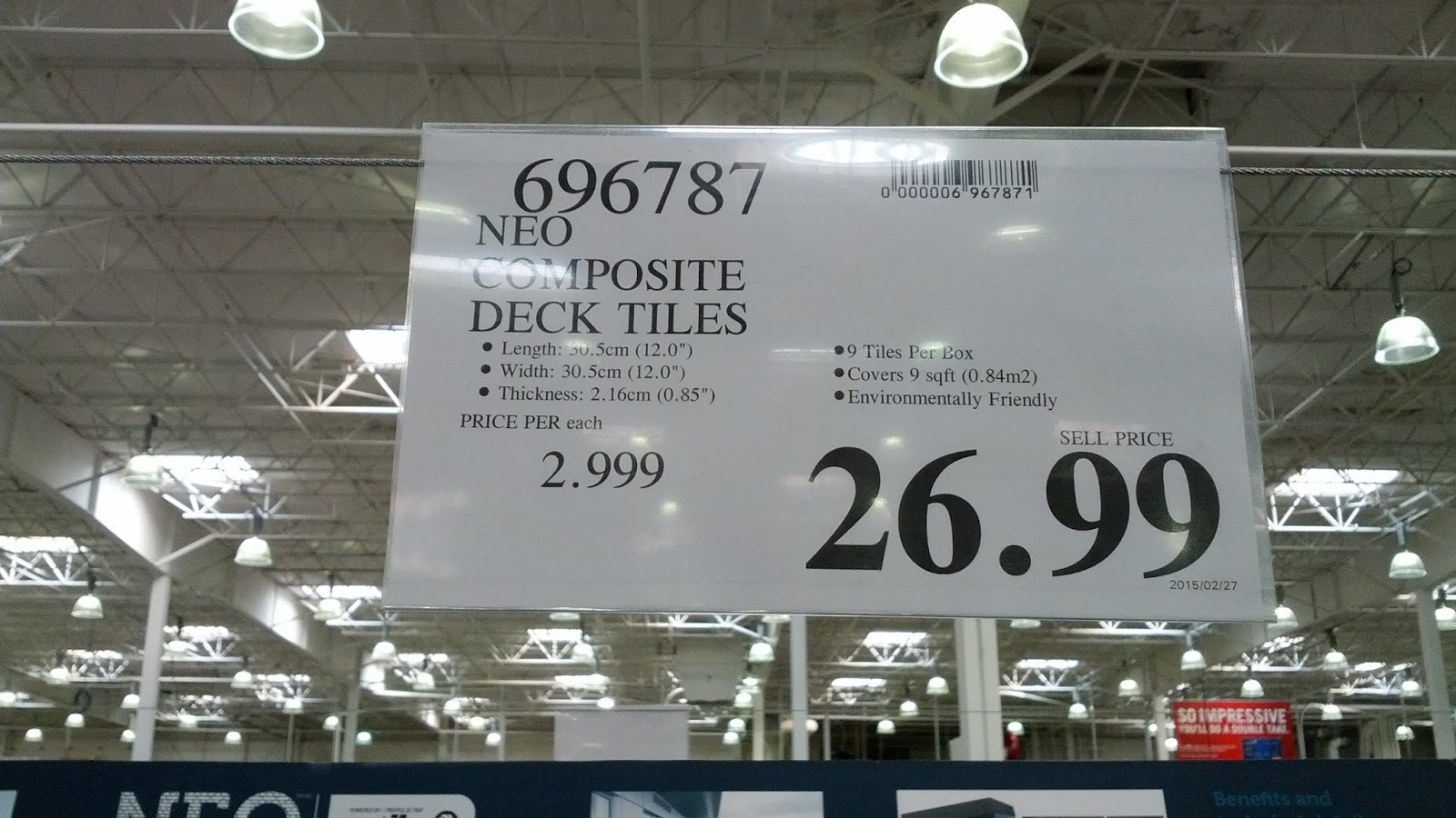 Deal For Neo Composite Deck Tiles At Costco