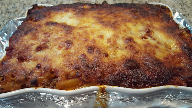 Baked Four Cheese Ziti Bake
